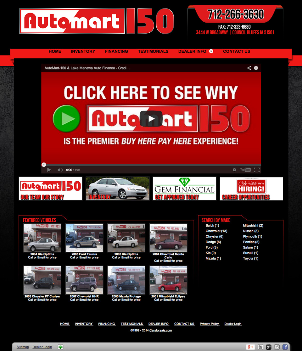 Buy Here Pay Here Car Lots Council Bluffs